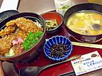 Sakuraniku_no_sauce_katudon_to_imon