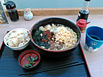 Nikuwakame_udon_set